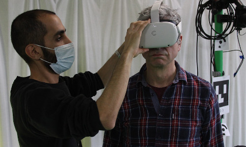 Using virtual reality to assess and improve balance in older adults.